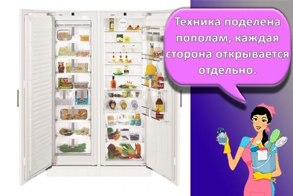 Side-by-Side холодильник