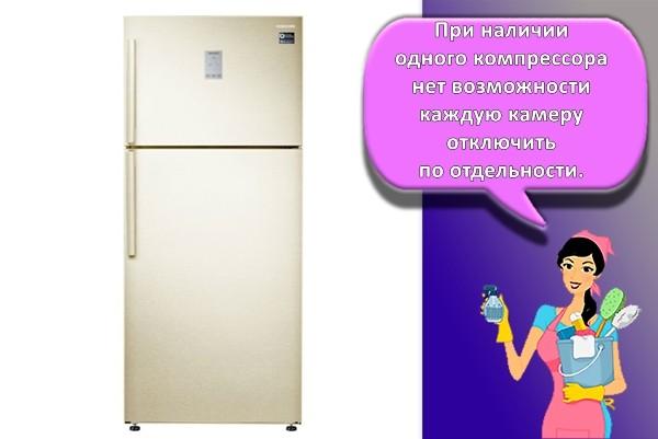 стандартный холодильник