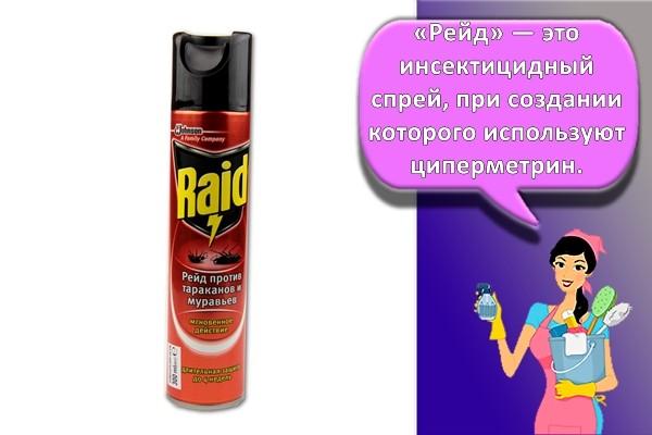 средство Raid