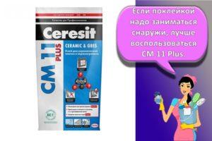 Виды, характеристика и области применения плиточного клея «Церезит», как разводить