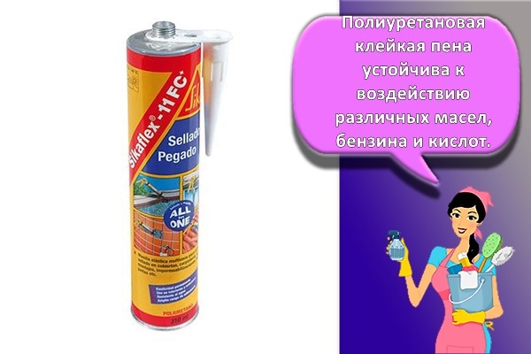 Полиуретановый клей герметик Sika Sikaflex-11FC 300 мл. белый
