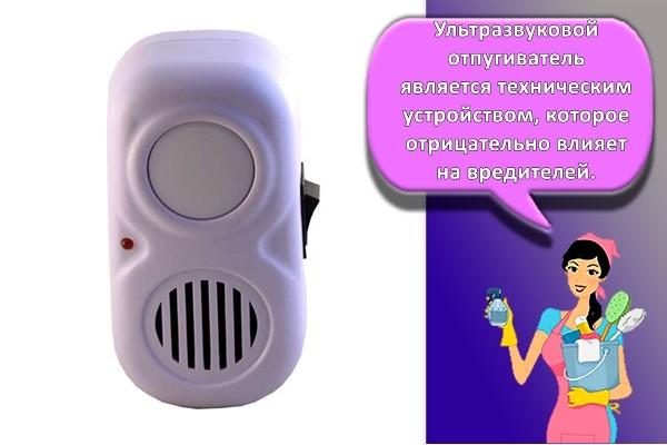 Ультразвуковой отпугиватель для мыши