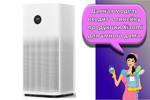 Данная модель входит в линейку продукции Xiaomi для умного дома.