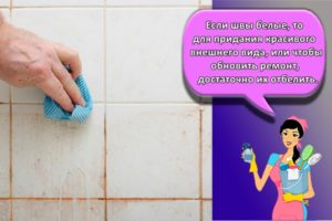 Как почистить и чем отмыть швы между плиткой в ванной в домашних условиях