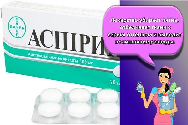 аспирин таблетки
