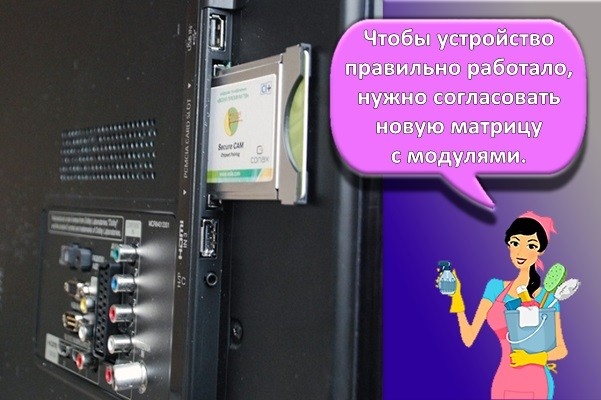 модули экрана