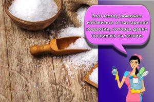 ТОП 13 методов, как в домашних условиях убрать с ножа ржавчину