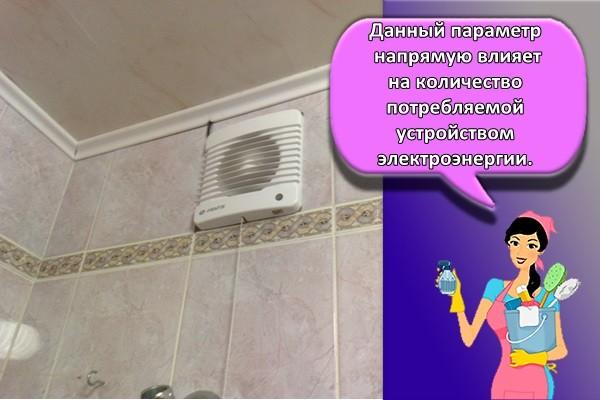 Данный параметр напрямую влияет на количество потребляемой устройством электроэнергии.