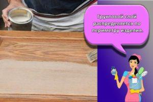 Свойства акриловой краски для мебели и инструкция для работы в домашних условиях
