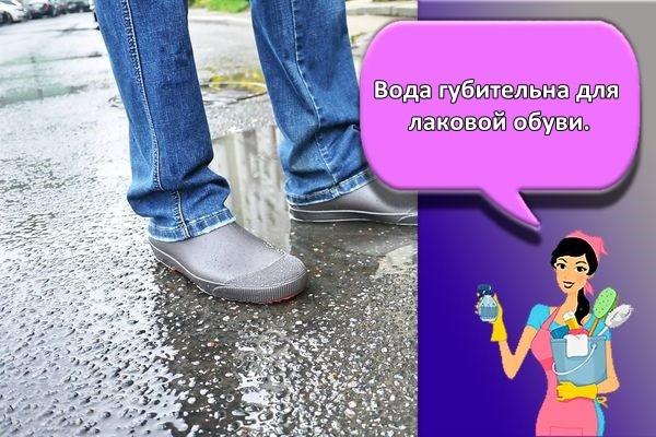вода для обуви