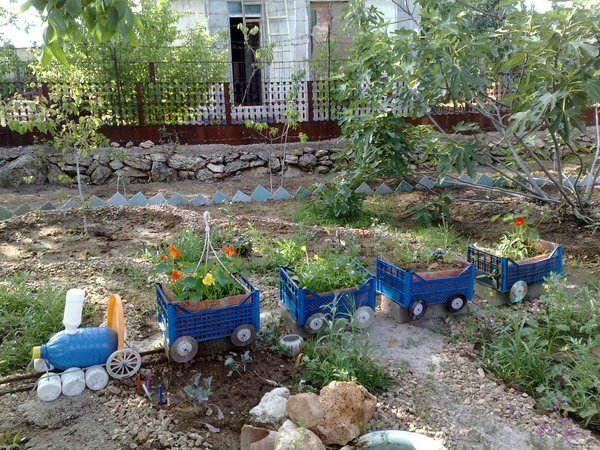 садовой паровозик