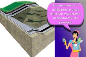 Применение на даче геотекстиля для садовых дорожек, для чего он нужен и как выбрать
