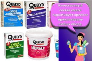 Состав и разновидности обойного клея марки Quelyd, инструкция по применению