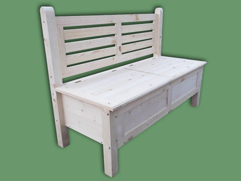 скамейка с ящиком