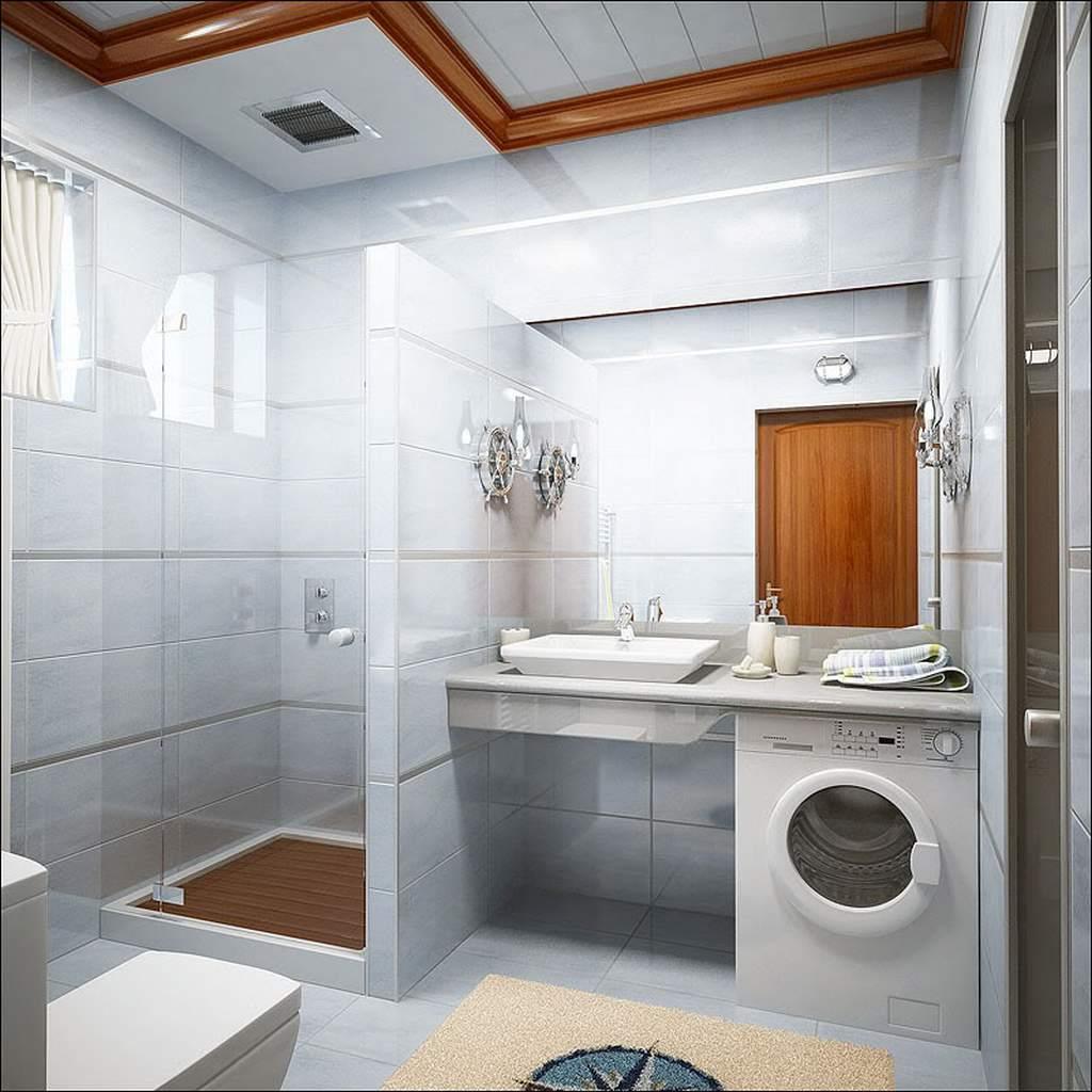 ванна с плитки