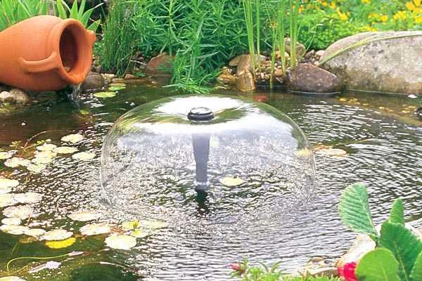 стационарный фонтан