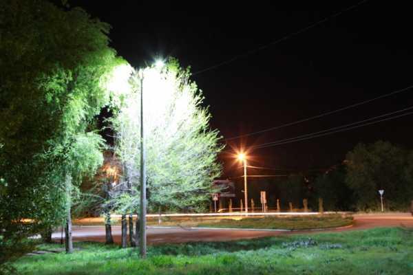 фонарь на улице