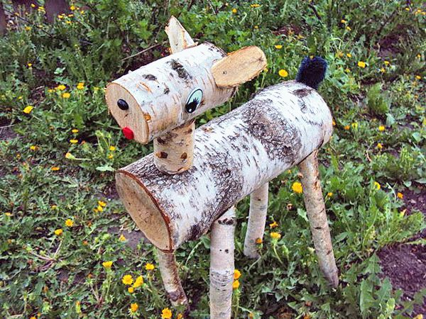 деревяный теленок
