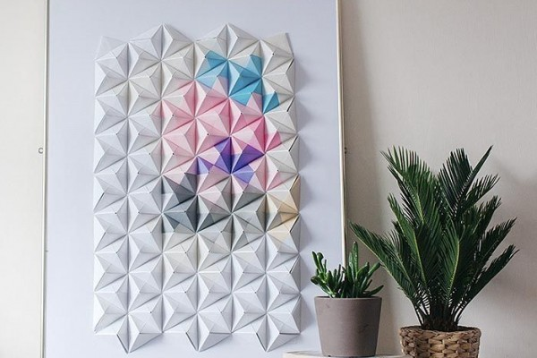 панно оригами