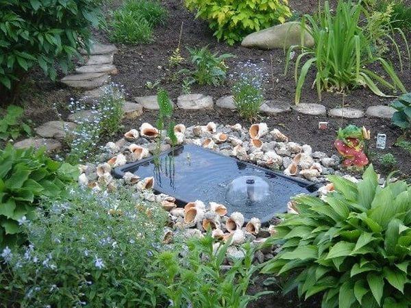 фонтан из ванны