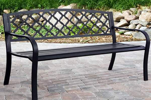 скамейка из метала