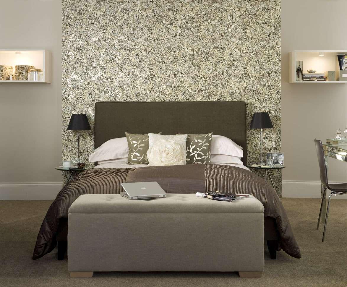 Это нежный и милый дизайн, который подходит для спальни.