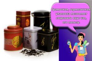 Как правильно хранить чай в домашних условиях и оптимальные условия для разных видов