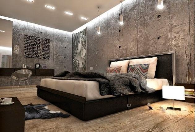 спальня большая