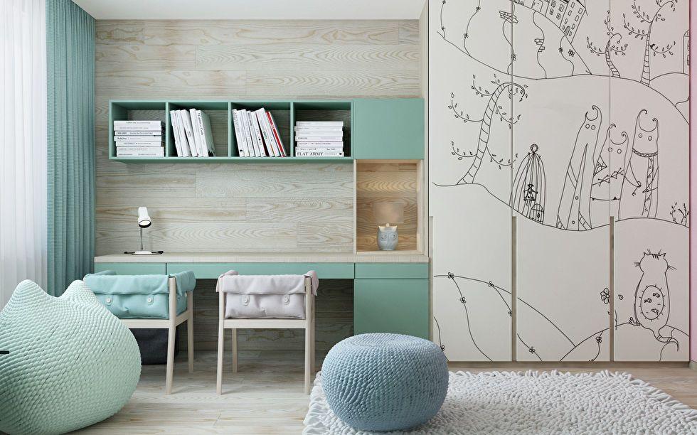 дизайн детской комнаты для мальчиков Модерн