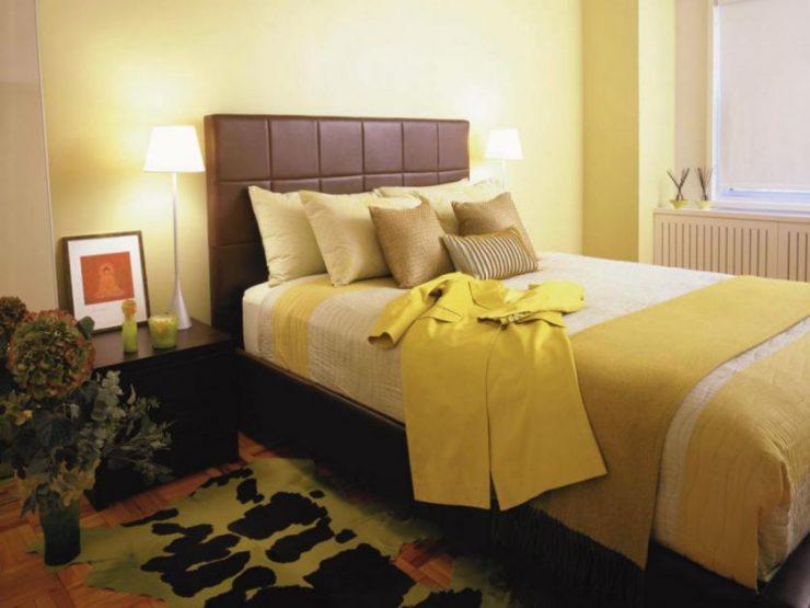 желтая комната