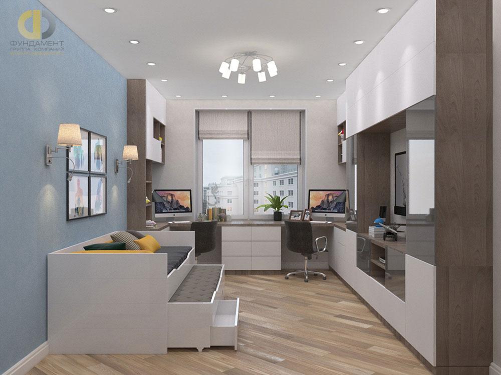 Одним из ключевых принципов дизайна считается функциональное зонирование.