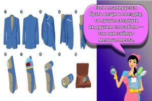 Основные способы, как правильно сложить пиджак, чтобы не помялся