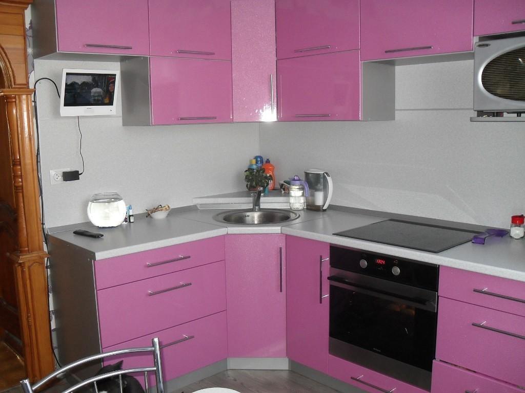 Розовый и серый оттенки