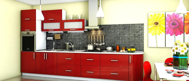 В кухнях, площадью от 12 метров, разместится гарнитур любой конфигурации.