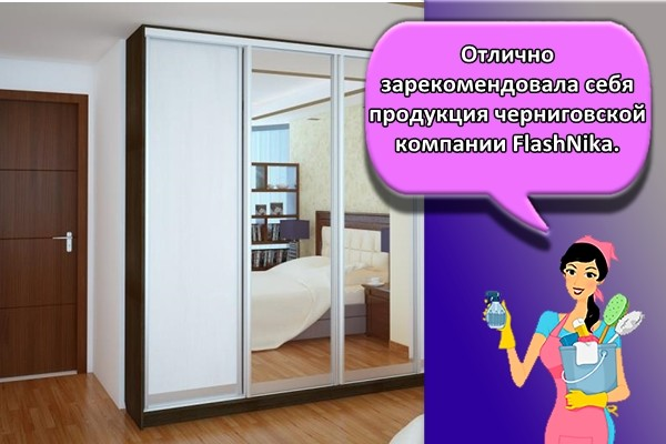 Отлично зарекомендовала себя продукция черниговской компании FlashNika.