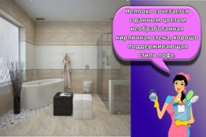Дизайн ванной комнаты в стиле лофт, цветовые решения и идеи для оформления
