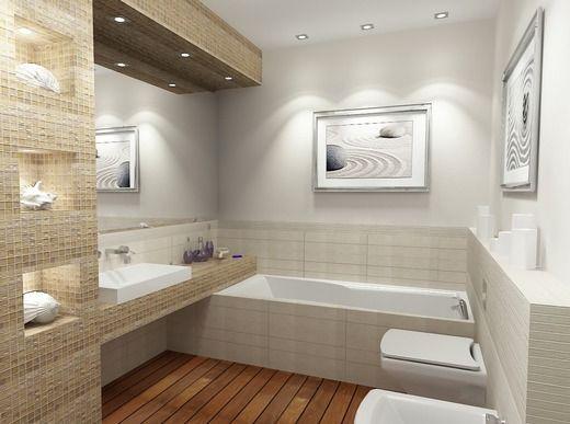 бежевая ванна
