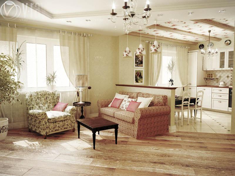 стильная гостинная