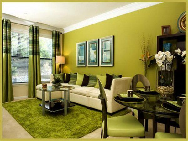 зеленная гостинная