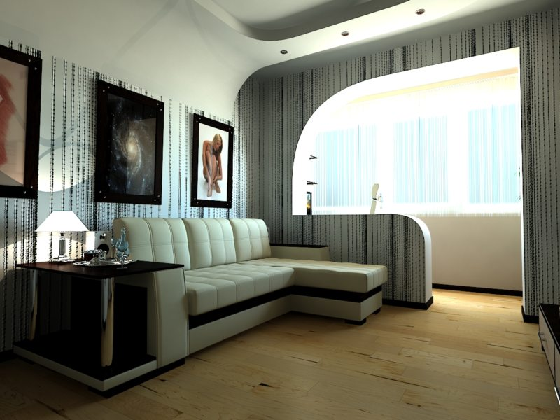 большая комната