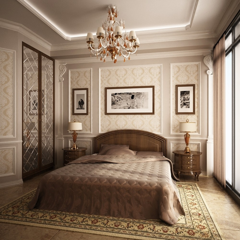 спальня красивая