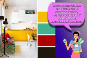 Правила сочетания цветов в интерьере и таблица раскладок, дизайнерские решения