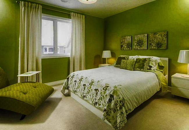 оливковя спальня