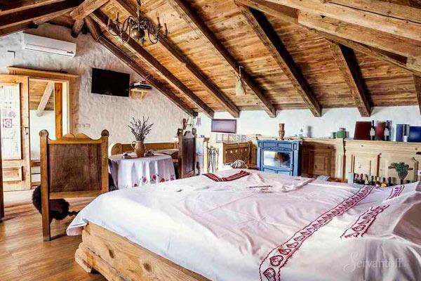 спальни на мансарде дизайн