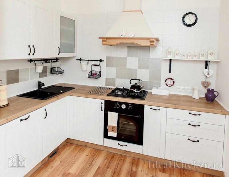 дизайн для фартука кухни из Ламинат