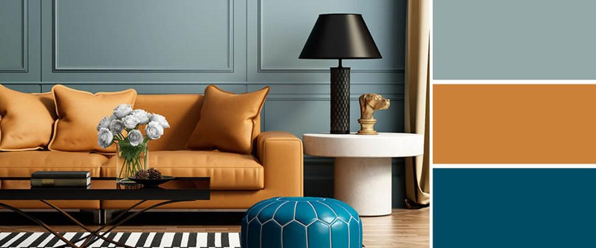 Контрастными цветами называются цвета, которые сочетаясь, образуют насыщенный и яркий акцент, привлекающий внимание.