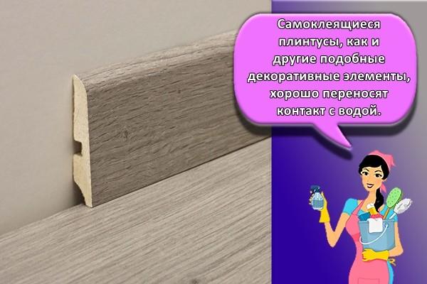 деревяный плинтус