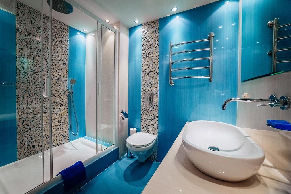 голубая ванна