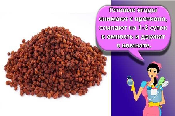 сушенные ягоды