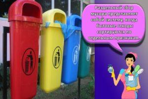 Виды и маркировка контейнеров для раздельного сбора мусора и как сортировать
